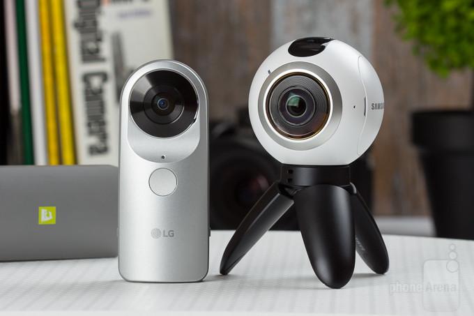 Samsung Gear 360 vs LG 360 Cam
