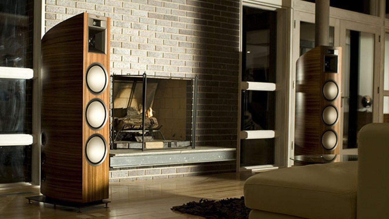 Dòng loa Klipsch Palladium – Hệ thống âm thanh hiện đại