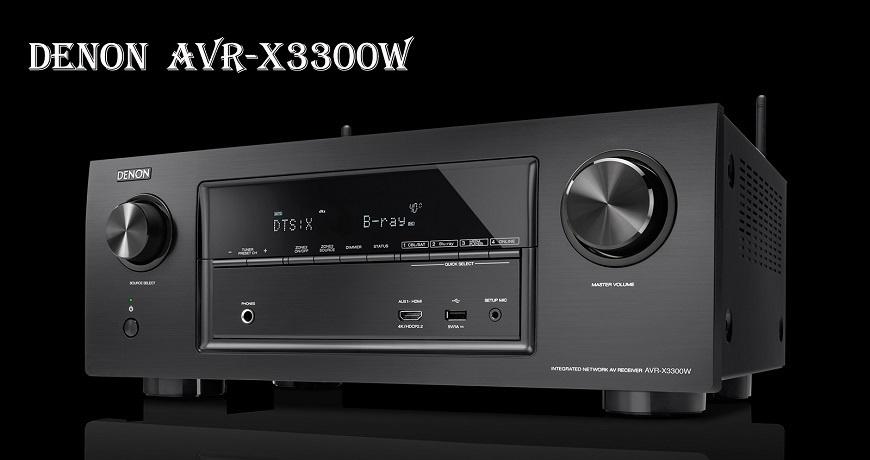 Ampli Denon AVR-X3300W chuan