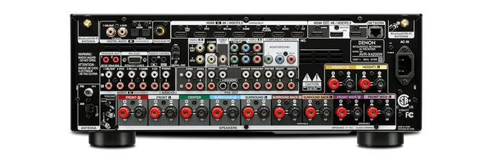 Ampli Denon AVR-X4200W mat sau
