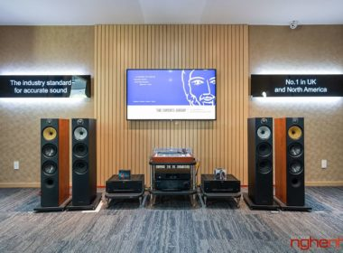 Dong loa bowers wilkins 600