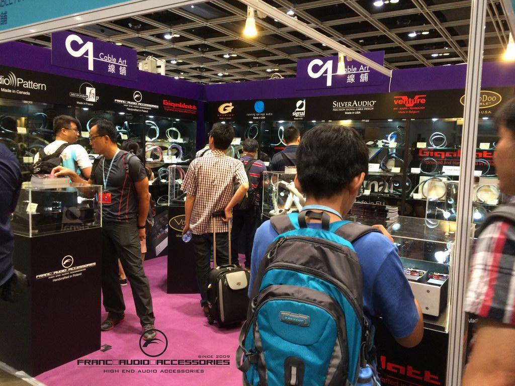 hong kong high end audio visual show 2019 rong