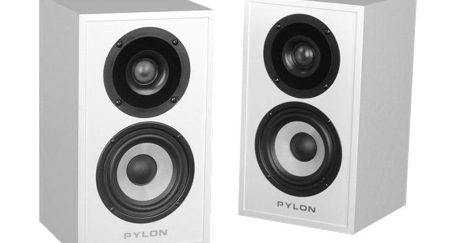 loa Pylon Audio Pearl Sat trang